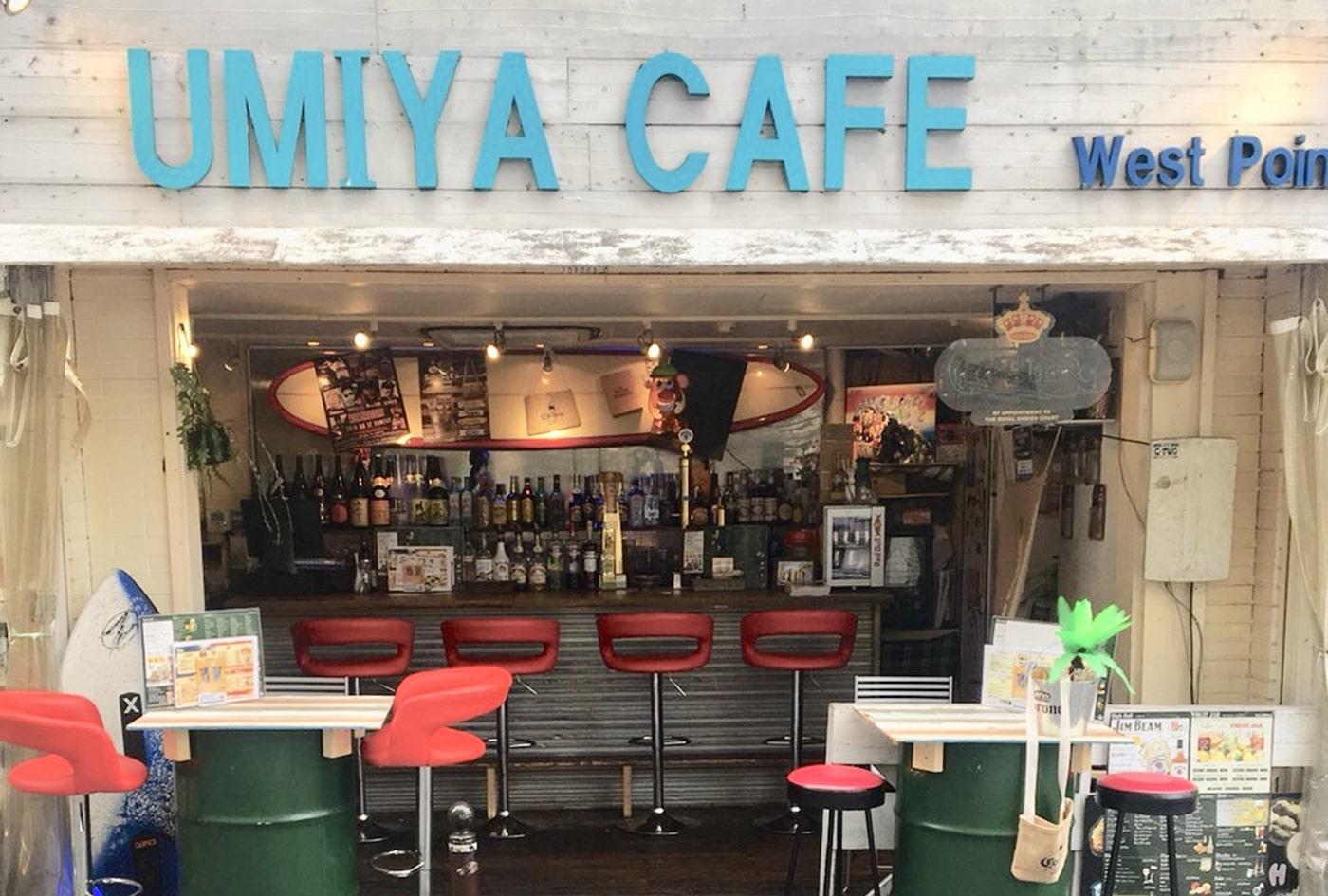 飲食店事業:UMIYA cafe west point